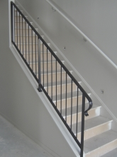 Stair handrail metal architectural hadrail and balustrade