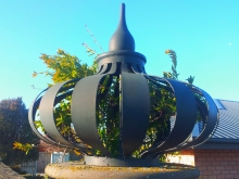 Metalcraft Engineering frabricate and install architectural & decorative onion features Christchurch