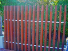 Metalcraft Engineering architectural weathered steel fence Christchurch manufacture