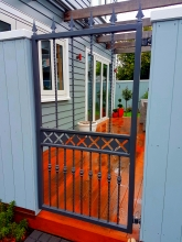 Custom made metal gate classic style Christchurch Metalcraft Engineering