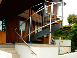 Metalcraft Engineering fabricate architecturally designed handrails and balustrades in glass, stainless steel, mild steel and all other metals