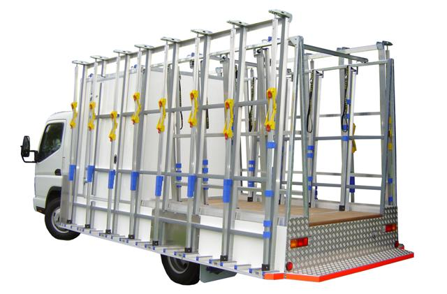 Contractor Glass Truck