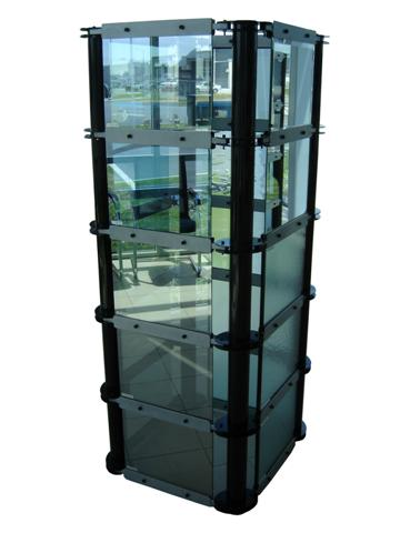 Flat Glass Display