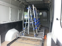 Stone trolley and van fitout